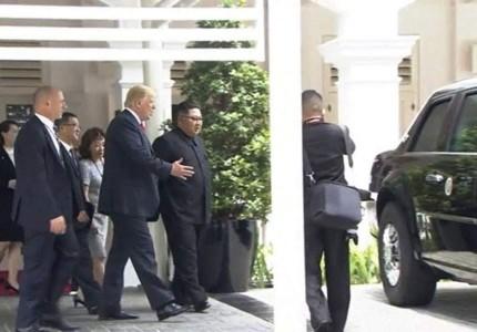 Ο Τραμπ έδειξε στον Κιμ το... Κτήνος! (photo, video)