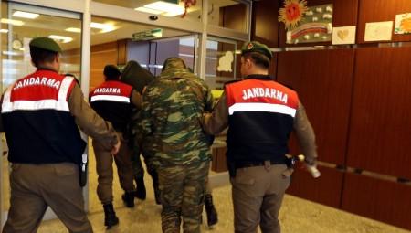Στο δικαστήριο της Ανδριανούπολης οι δύο στρατιωτικοί για νέο αίτημα αποφυλάκισης