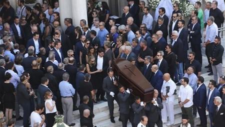 Στη Μητρόπολη Αθηνών το «τελευταίο αντίο» στον Σωκράτη Σ. Κόκκαλη