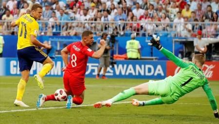 Μουντιάλ 2018: Στα ημιτελικά οι Άγγλοι μετά το 2-0 με τη Σουηδία