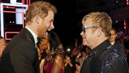 Πρίγκιπας Χάρι και Elton John ενώνουν τις δυνάμεις τους