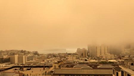 Το Σαν Φρανσίσκο έγινε... κόκκινο λόγω πυρκαγιάς! (video)