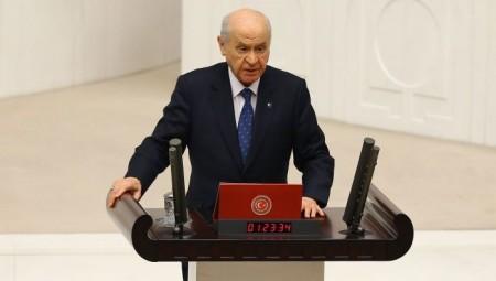 Νέο παραλήρημα Μπαχτσελί: «Ελπίζω η Ελλάδα να μην ξεχνά τη Μικρασιατική Καταστροφή»