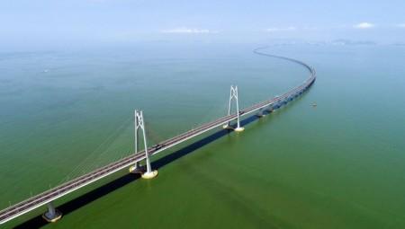 Στη διάθεση του κοινού η μεγαλύτερη γέφυρα που διασχίζει τη θάλασσα