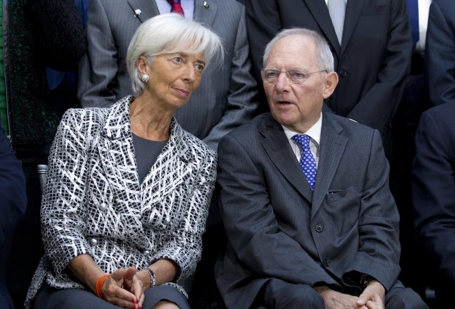 Christine Lagarde, Wolfgang Schauble