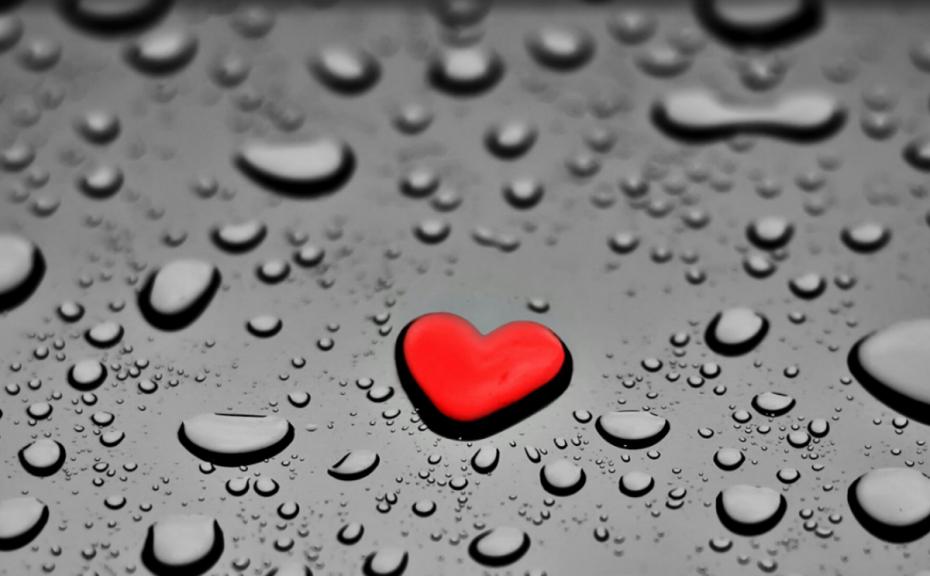 heart-wallpaper-water
