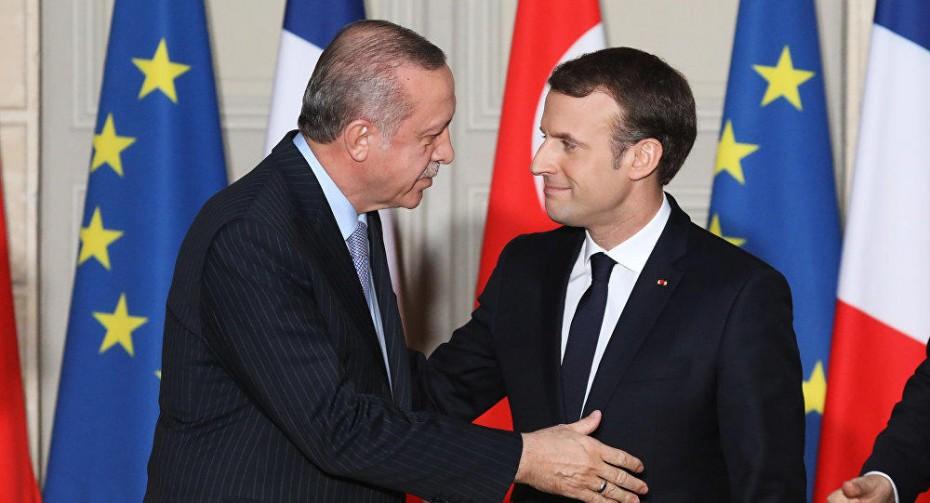 erdogan-macron-gallia-tourkia-syria