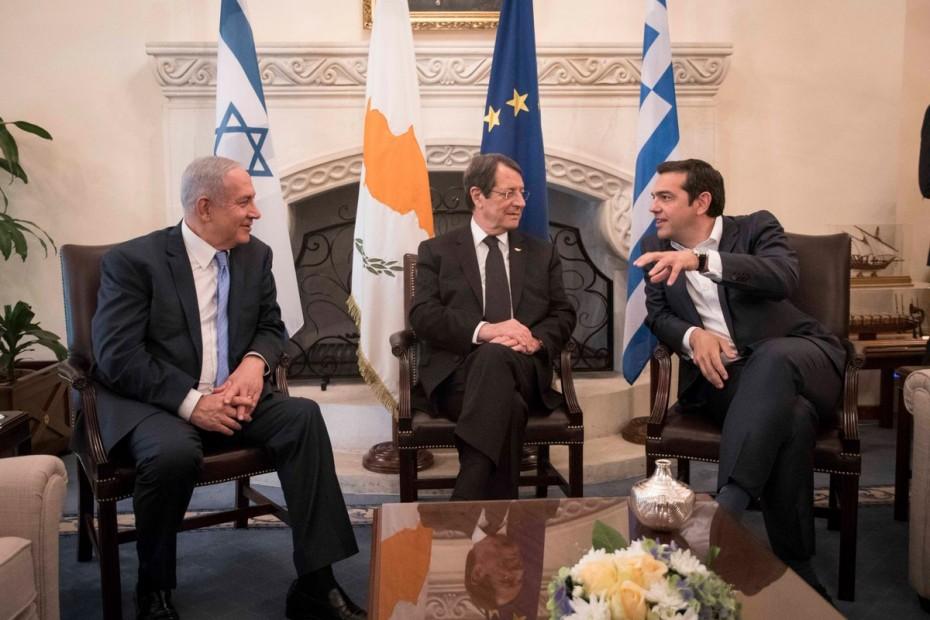 netaniaxou-anastasiadis-tsipras-israil-kypros