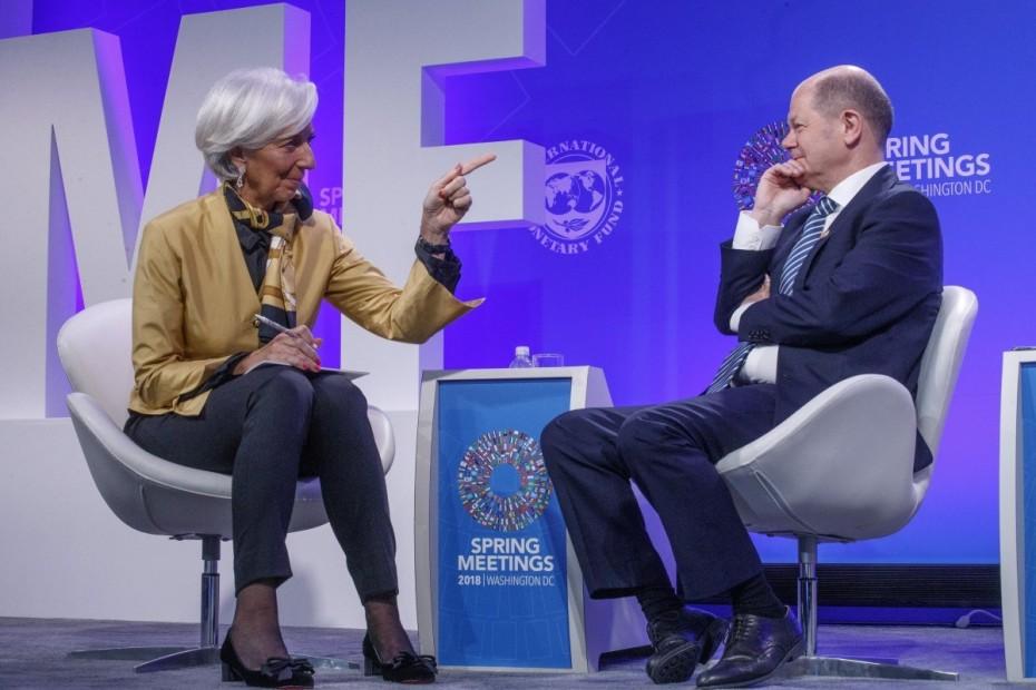 Βερολίνο: «Ουδέν σχόλιο» για τα περί αποχώρησης του ΔΝΤ από Ελλάδα