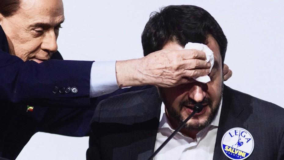 Το κόμμα του Μπερλουσκόνι δεν ψηφίζει τη νέα κυβέρνηση στην Ιταλία