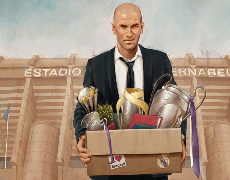 Ο Ζινεντίν Ζιντάν αποχωρεί από τη Ρεάλ Μαδρίτης