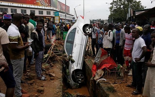 Ακτή Ελεφαντοστού: 18 νεκροί από πλημμύρες