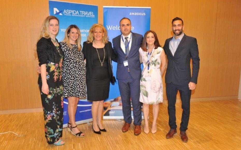 H Amadeus ανανεώνει τη συνεργασία της με το Aspida Travel