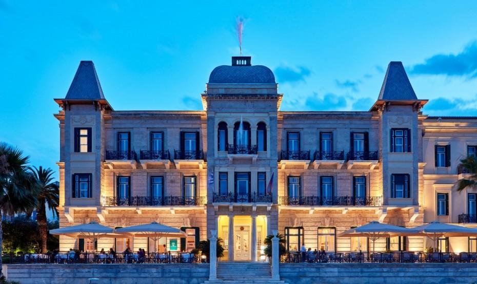 Il Cortile: Το ολοκαίνουριο εστιατόριο του Poseidonion Grand Hotel