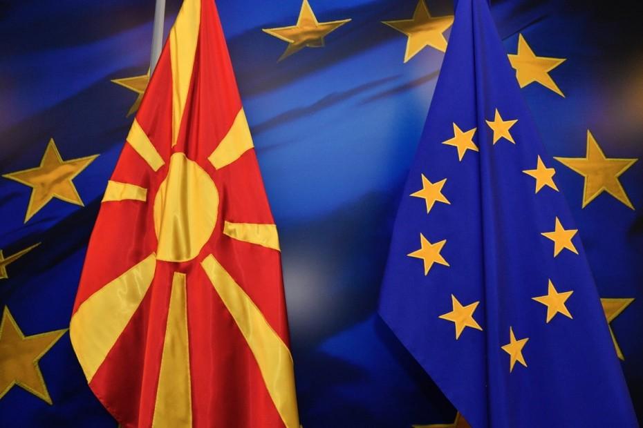«Τρέχει» η ένταξη των Σκοπίων στην ΕΕ μετά τη συμφωνία
