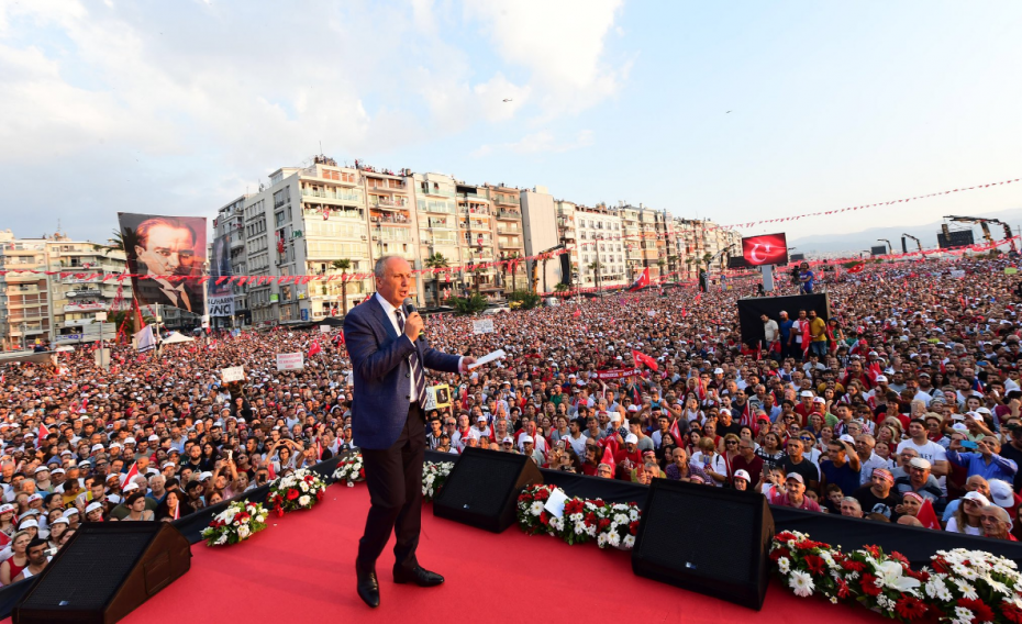 Θα στείλουμε τους Σύρους πίσω στη χώρα τους, τόνισε ο αντίπαλος του Ερντογάν