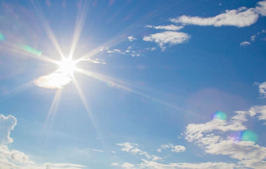 Με άνοδο της θερμοκρασίας ο καιρός σήμερα