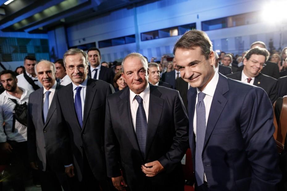 ΝΔ: Συσπείρωση...κορυφής ενόψει εκλογικής μάχης