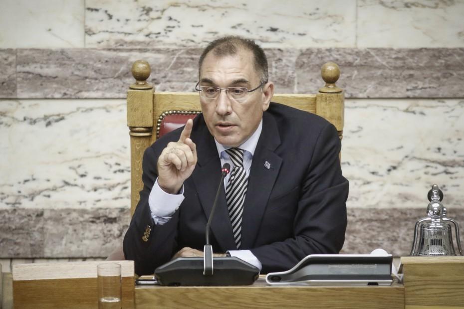 Ο Δ. Καμμένος παραιτήθηκε από την αντιπροεδρία της Βουλής