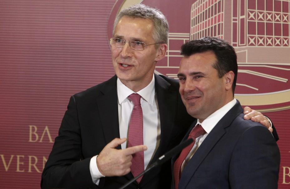 Τι αναφέρει η επιστολή ένταξης του ΝΑΤΟ προς την ΠΓΔΜ