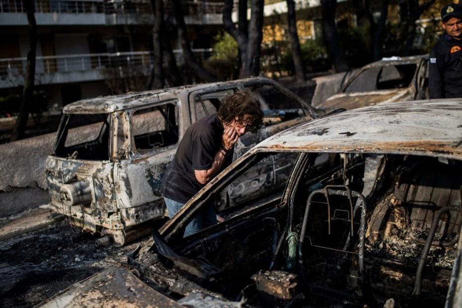 Στους 74 οι νεκροί και στους 188 οι τραυματίες από τη φονική φωτιά στο Μάτι
