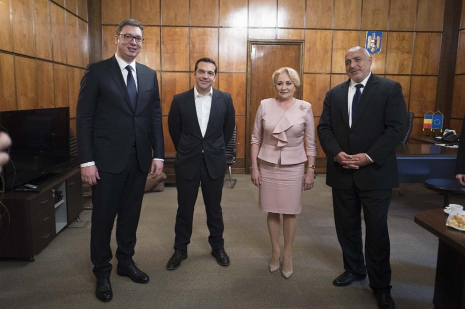 Ξεκίνησε η τετραμερής Ελλάδας - Βουλγαρίας - Σερβίας - Ρουμανίας
