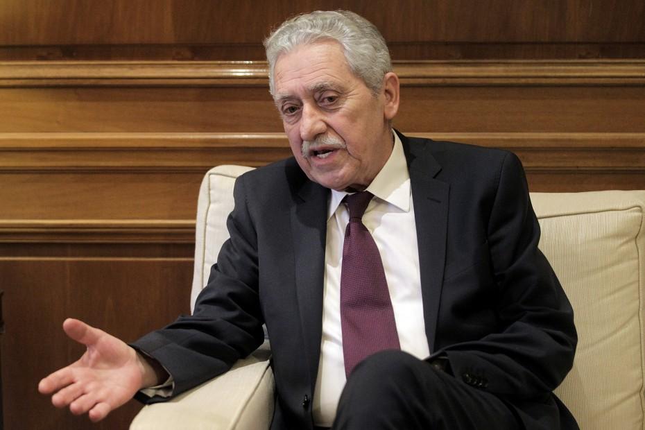 Ο Κουβέλης χρυσώνει το χάπι για τις πολιτικές ευθύνες με τη φιέστα για «καθαρή έξοδο»