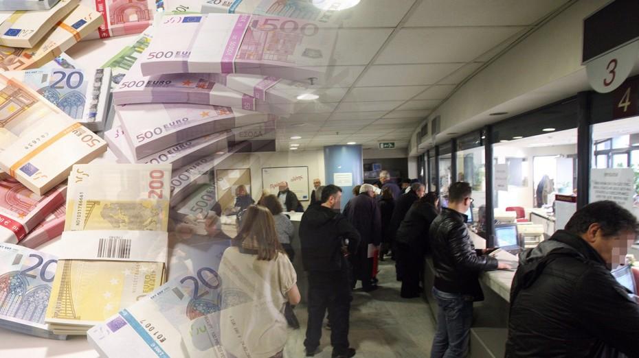 Εφορία: 1.000 ευρώ κατά μέσο όρο χρωστούν περισσότεροι από 3,5 εκατ. φορολογούμενοι