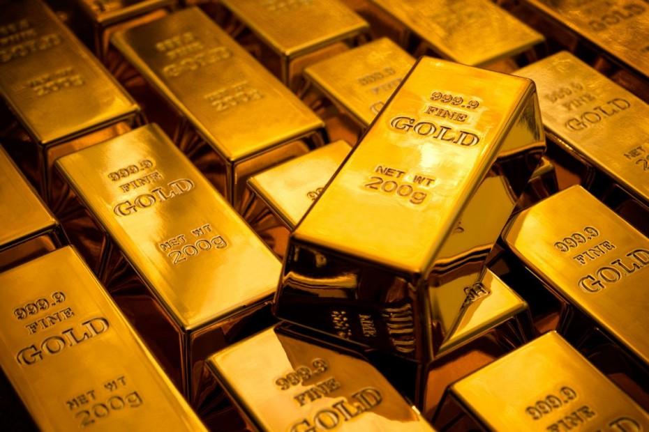 Σε υψηλό δύο εβδομάδων ο χρυσός