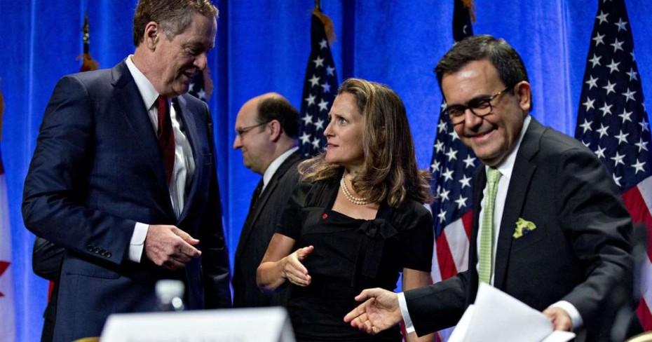 Οι ΗΠΑ απειλούν τον Καναδά για την εμπορική συμφωνία