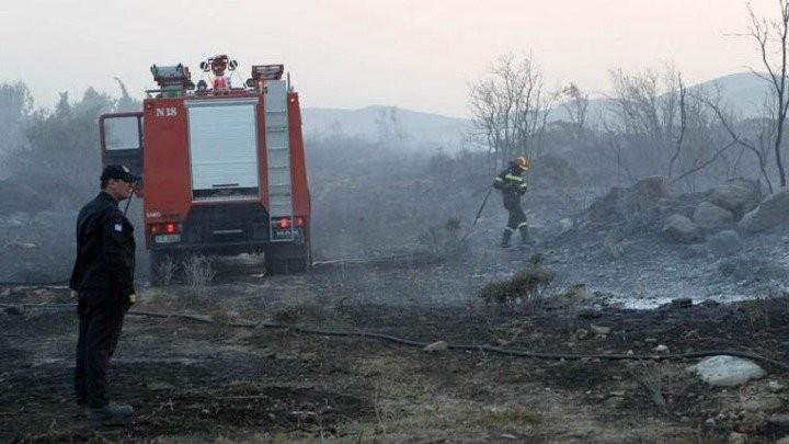 Κεφαλονιά: Εκκενώθηκε το Άνω Κατελειό  λόγω της πυρκαγιάς