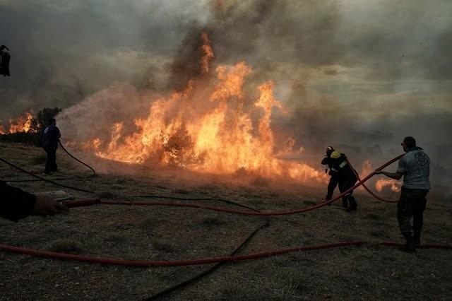 Καλύτερη η εικόνα από τις πυρκαγιές στην Κεφαλονιά