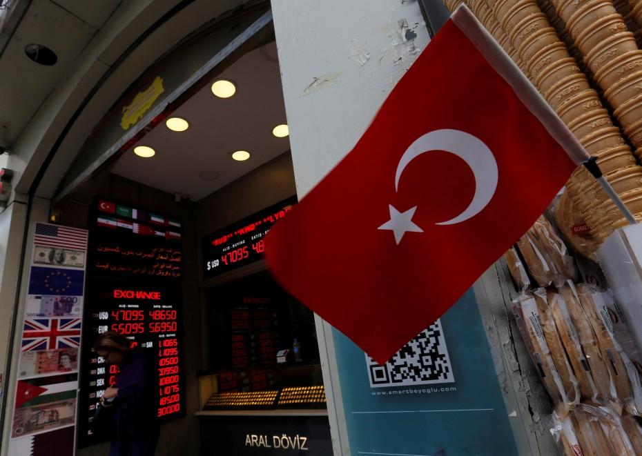 Τουρκία: Στο 24% αυξάνει τα επιτόκια η Κεντρική Τράπεζα κόντρα στον «πόλεμο» Ερντογάν