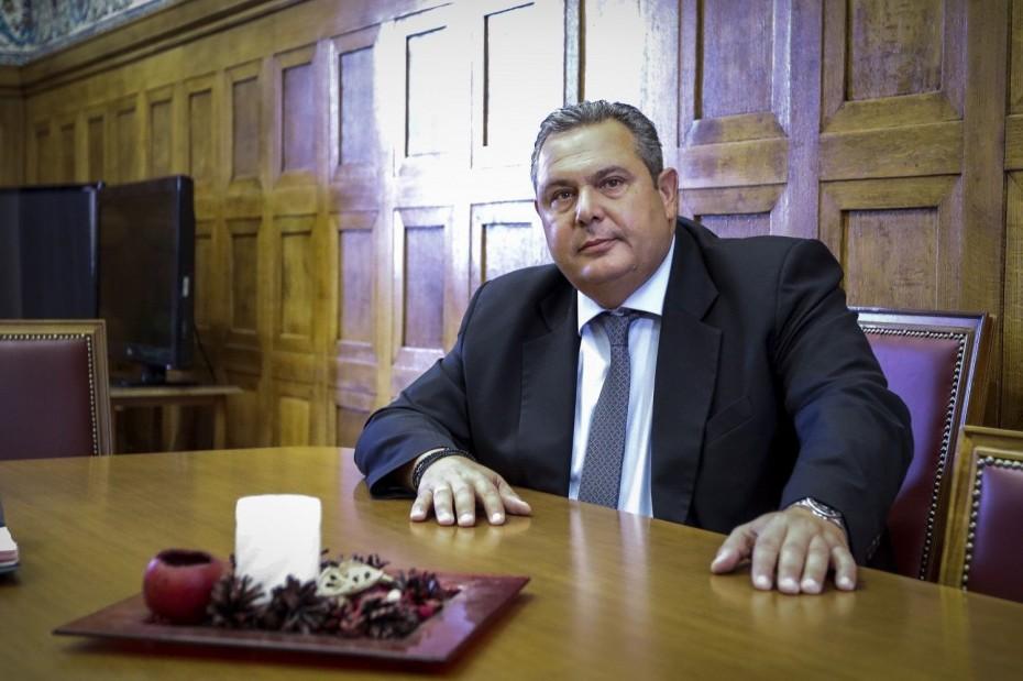 Στα 600.000 ευρώ οι απόρρητες δαπάνες του ΥΠΕΘΑ, λέει ο Καμμένος