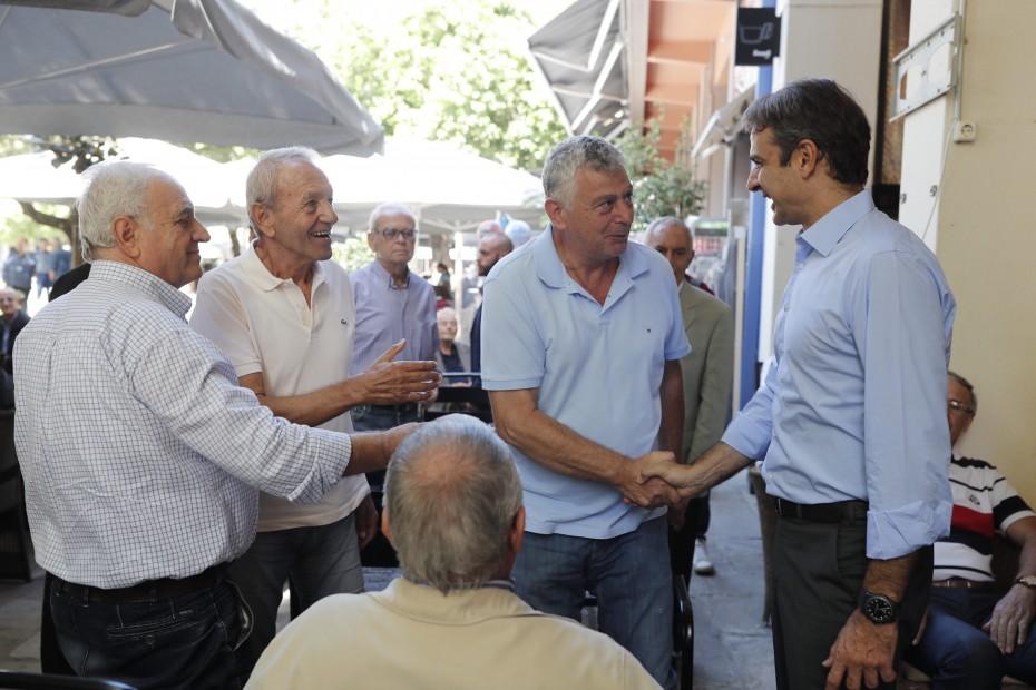 Μία προς μία αποκαλύπτει τις «μαύρες τρύπες» της πολιτικής Τσίπρα-Καμμένου ο Μητσοτάκης