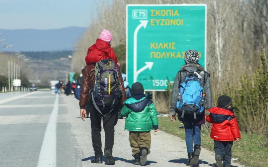 Πυρά στον αέρα κατά μεταναστών από στρατιώτες της ΠΓΔΜ στα σύνορα με την Ελλάδα