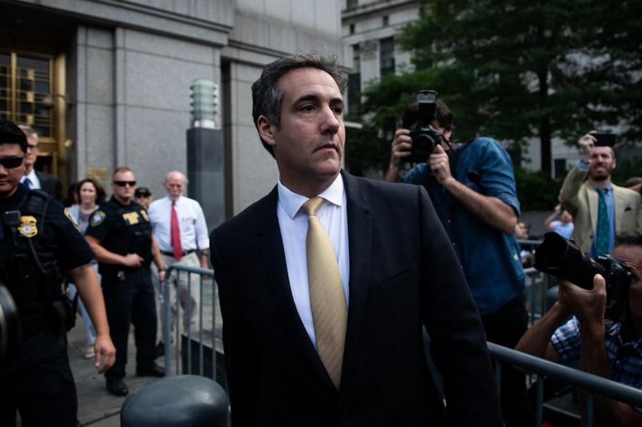 Ο πρώην δικηγόρος του Τραμπ, Κοέν, δήλωσε ένοχος για ψευδορκία