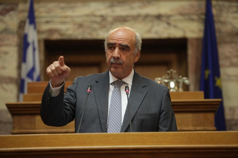 Εκτός της Επιτροπής Αναθεώρησης του Συντάγματος ο Μεϊμαράκης