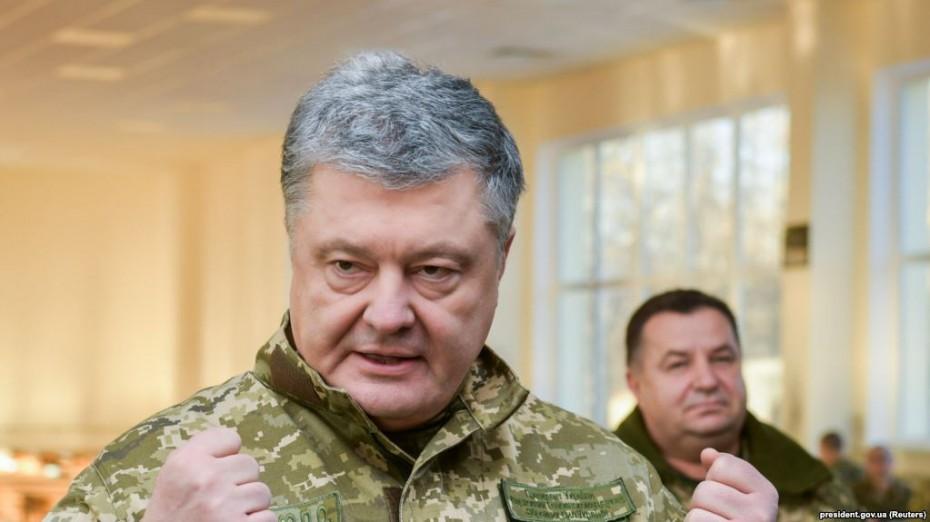 «Περιορισμό» των Ρώσων στην Ουκρανία εξαγγέλλει ο Ποροσένκο