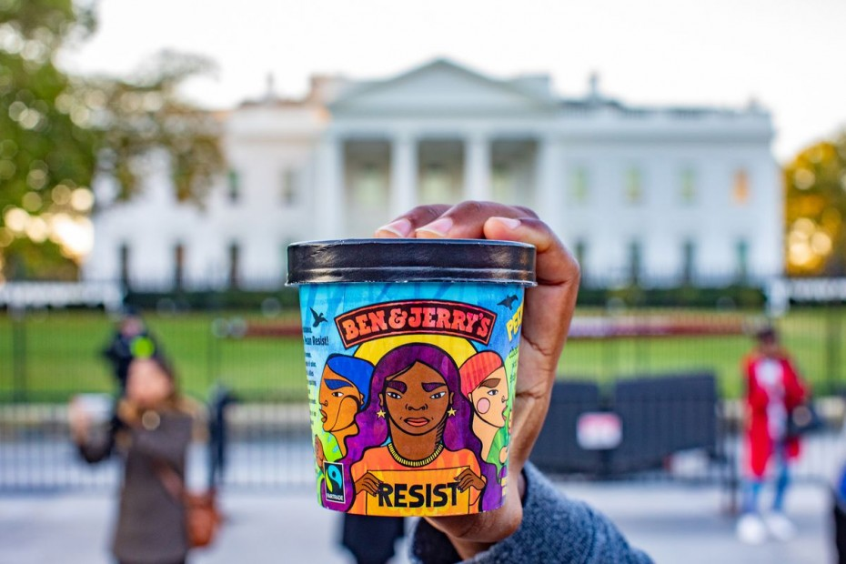 Γεύση παγωτού κατά του... Τραμπ!