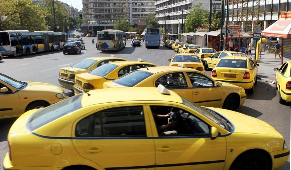 Χειρόφρενο στα ταξί, «μπαρούτι» στα δικαστήρια