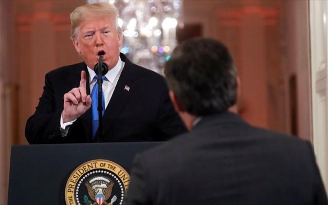 Νέα επίθεση του Τραμπ σε δημοσιογράφο του CNN