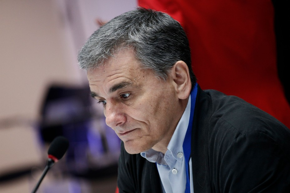 Συνάντηση Τσακαλώτου με Eurobank για τα κόκκινα δάνεια