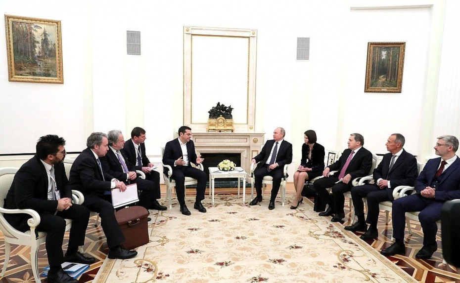 Ο Τσίπρας «πούλησε» το γεωστρατηγικό ρόλο της Ελλάδας στον Πούτιν