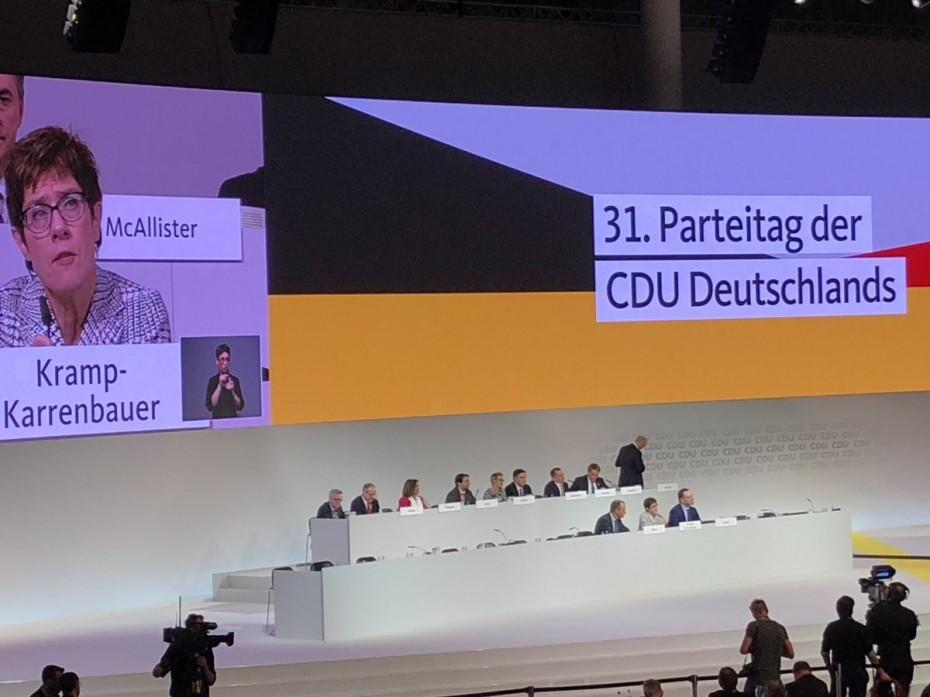 Ντέρμπι κορυγής για την ηγεσία του CDU