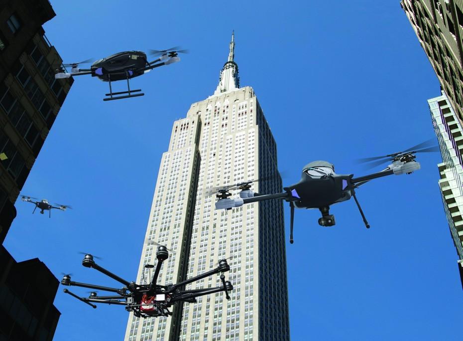 Εναέριες περιπολίες με... drones στη Νέα Υόρκη