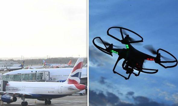 Δύο συλλήψεις για τα drones στο Γκάτγουικ
