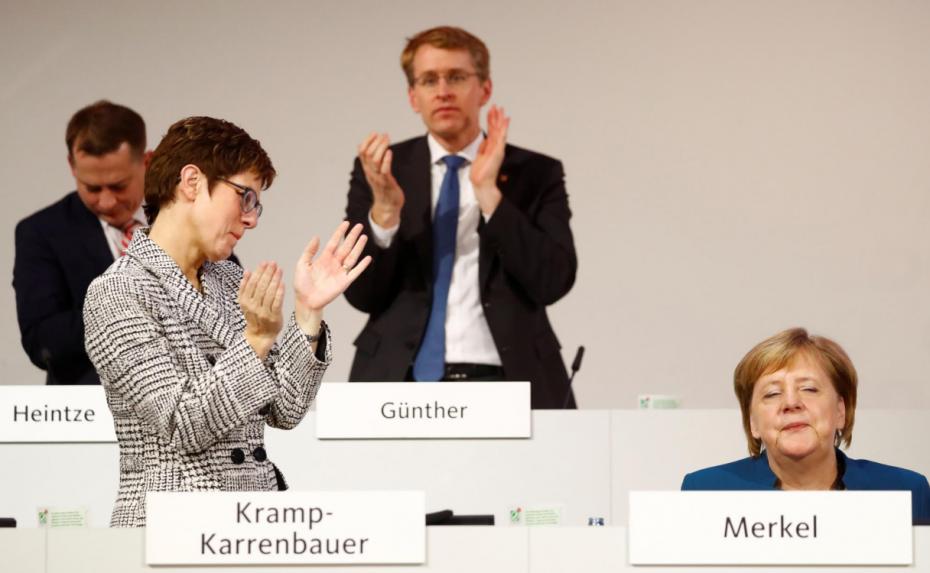 Η Κραμπ-Καρενμπάουερ διάδοχος της Μέρκελ στο CDU