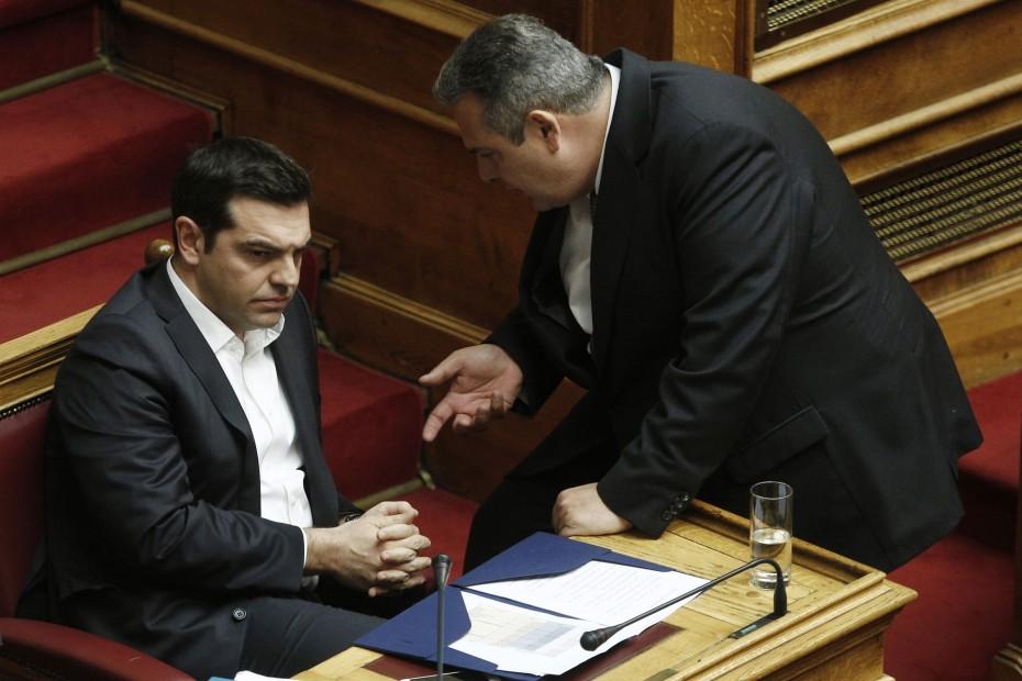 Καμμένος: Κανένας βουλευτής μου στο ψηφοδέλτιο του ΣΥΡΙΖΑ - Το συμφωνήσαμε με Τσίπρα