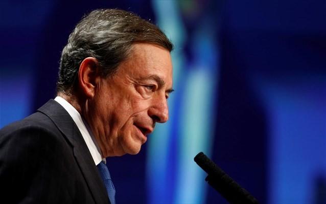 Προειδοποιήσεις Ντράγκι για την ανάπτυξη στην Ευρωζώνη